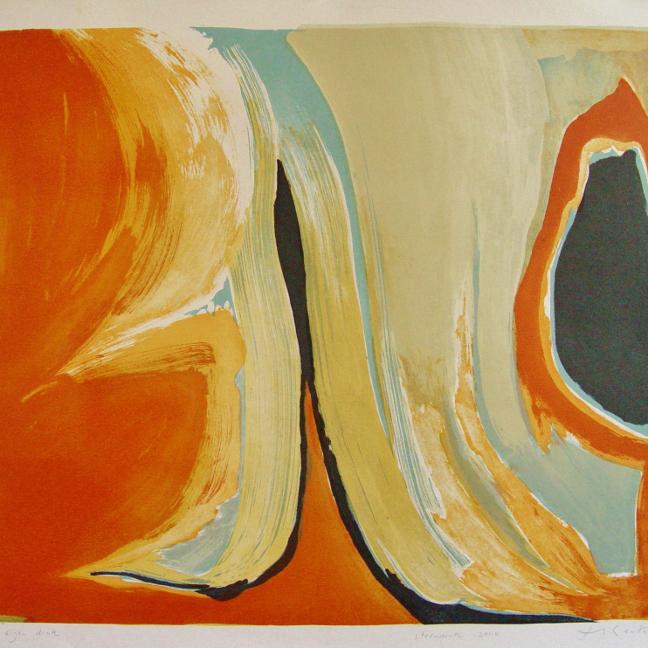 steendruk - geen titel 46 x 57 cm