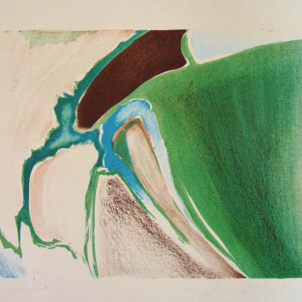 steendruk - geen titel 22 x 31 cm