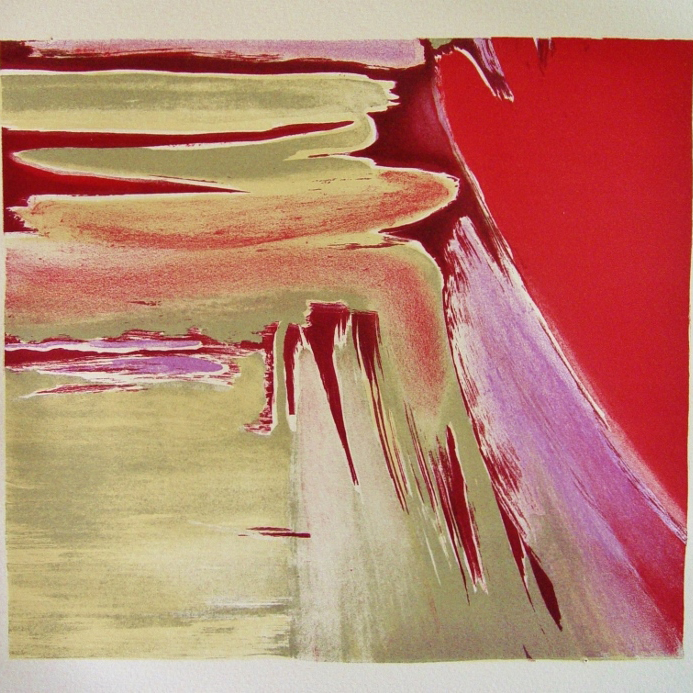 steendruk - geen titel 25 x 27 cm