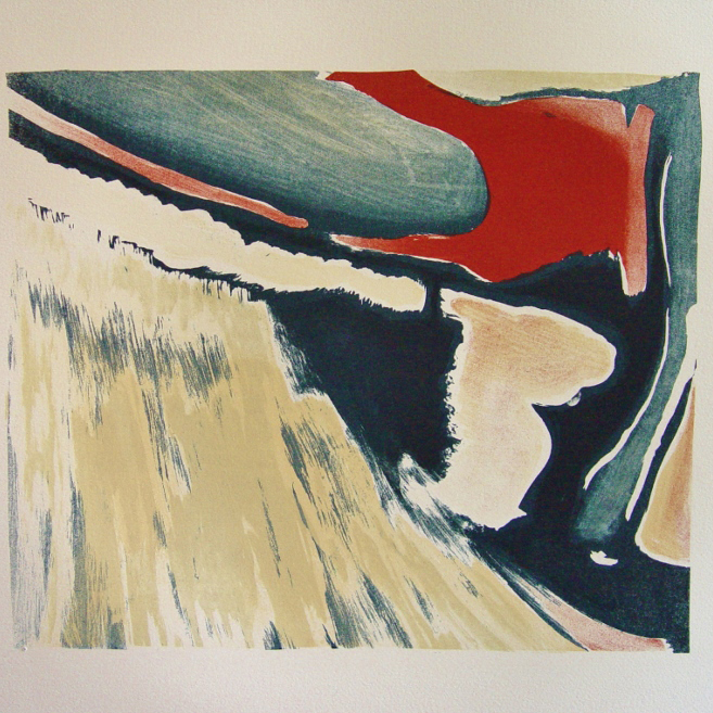 steendruk - geen titel 29 x 34 cm