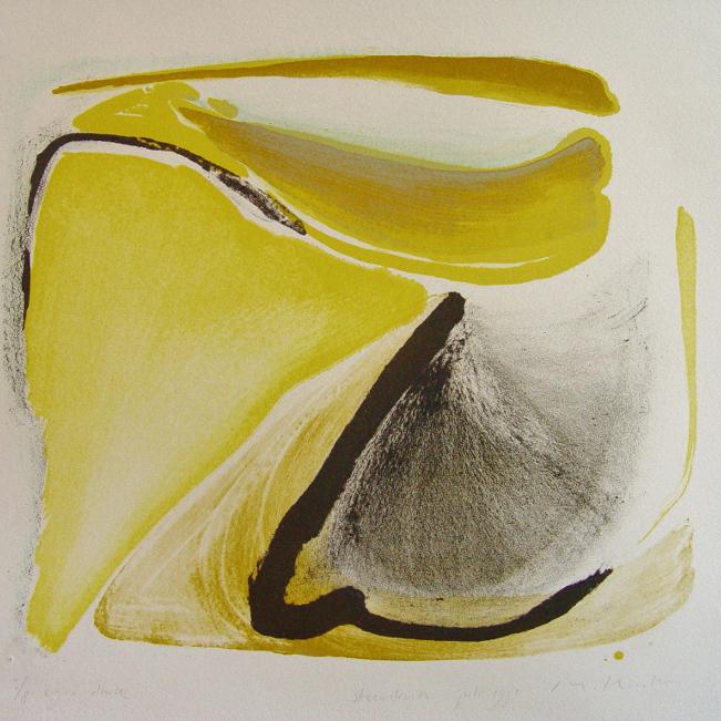steendruk - geen titel 30 x 34 cm