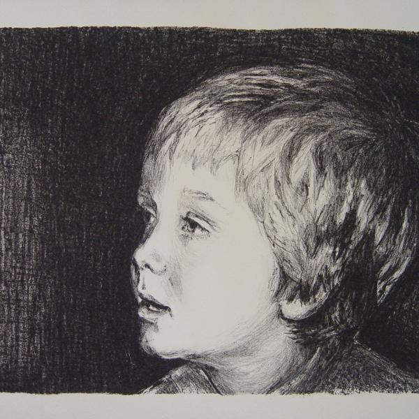 steendruk - Fedde 21 x 25 cm