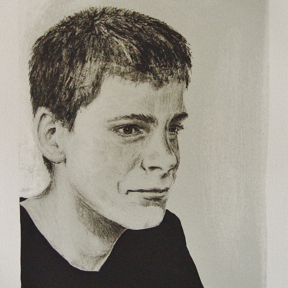 steendruk - Robert 28 x 19 cm