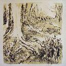 steendruk Hilli Kuilman - 43 x 53 cm